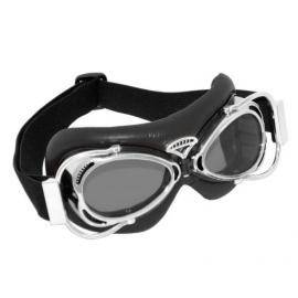 Brýle DAKOTA, černé s chromovanými obroučkami