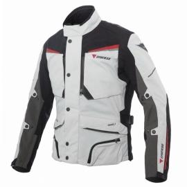 Pánská motocyklová bunda Dainese SANDSTORM GORE-TEX světle šedá černá červená 438bdc82de3