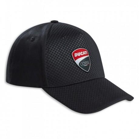 Kšiltovka Ducati Corse Total Black