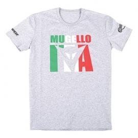 Pánské triko s krátkým rukávem Dainese MUGELLO D1 šedá