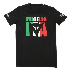 Pánské triko s krátkým rukávem Dainese MUGELLO D1 černá