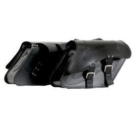 Kožené moto brašny TechStar Kosso bez zdobení