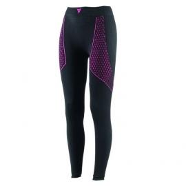Dámské termoaktivní kalhoty Dainese D-CORE THERMO PANT LL LADY černá/růžová