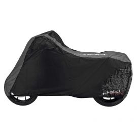 Nepromokavá horkuvzdorná plachta Held ADVANCED na motorku, černá/šedá