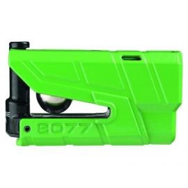 Zámek na kotoučovou brzdu s alarmem ABUS Granit Detecto X-Plus 8077, zelený