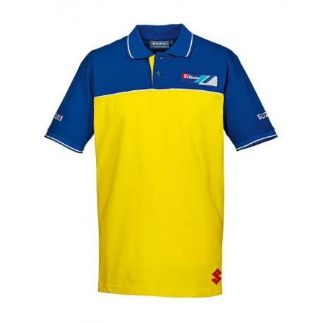 Pánské polotričko Suzuki Team žluté, originál