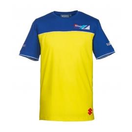 Pánské tričko Suzuki Team žluté, originál