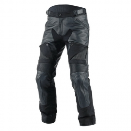 Dainese pánské kožené nepromokavé moto kalhoty CRUISER D-DRY černá