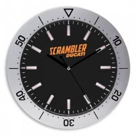 Nástěnné hodiny Ducati Scrambler Compass