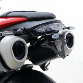 Držák SPZ RG Racing pro motocykly Triumph Speed Triple S/R ,16-, černý