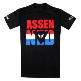 Pánské triko s krátkým rukávem Dainese ASSEN D1 černá