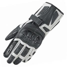 Dámské sportovní moto rukavice Held MYRA černá/bílá, kozí/klokaní kůže