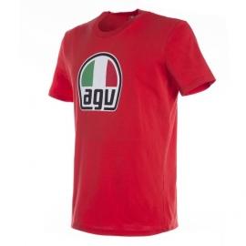 Pánské triko AGV červená