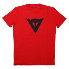 Pánské triko s krátkým rukávem Dainese SPEED DEMON červená/černá