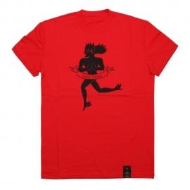 Pánské triko s krátkým rukávem Dainese ESSENCE červená