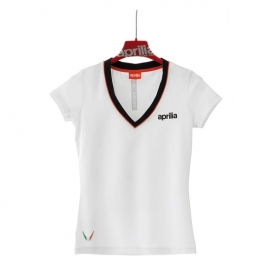 dámské tričko APRILIA bílé, vel. DXL