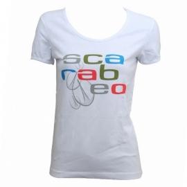 Dámské triko SCARABEO bílé