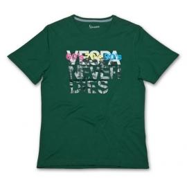 Pánské triko VESPA YEARS zelené