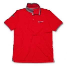 Pánské triko Polo VESPA ORIGINAL červené
