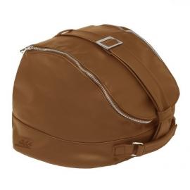 Kožená taška na helmu VESPA 946 natural (hnědá)