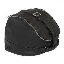 Kožená taška na helmu VESPA 946 černá