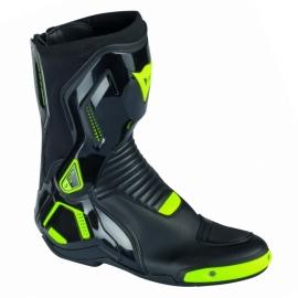 Moto boty Dainese COURSE D1 OUT černá fluo-žlutá 37b1bb378e