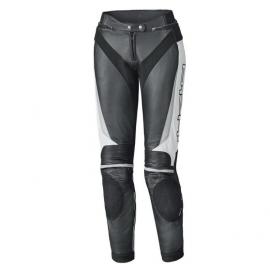 Dámské kožené kalhoty na motorku Held LANE 2 (prodloužená délka) vel.76 (36) černá/bílá