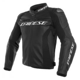 Dainese pánská kožená bunda na motorku RACING 3 černá