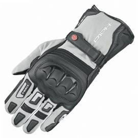 Enduro rukavice Held SAMBIA 2v1 GORE-TEX na motorku, šedá/černá, textil/klokaní kůže