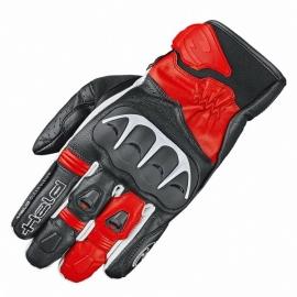 Sport moto rukavice Held DASH černá/červená, kozí kůže