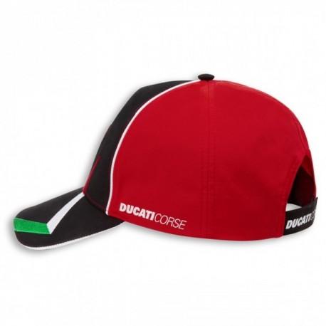 Kšiltovka Ducati Corse Speed červeno-černá