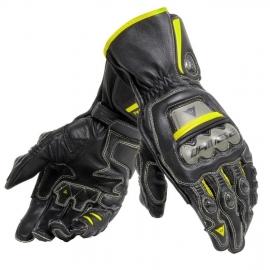 Pánské rukavice na motorku Dainese FULL METAL 6 černá/fluo žlutá