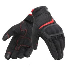 Letní moto rukavice Dainese AIR MASTER černá/červená