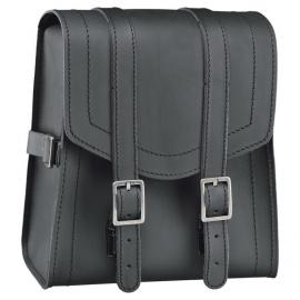 Taška na opěrku motocyklu: Held CRUISER SISSY-BAR (3L) kůže, černá