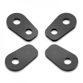 Adaptér pro montáž blinkrů RIZOMA pro motocykly Aprilia / BMW K1300R, S1000RR, F800R, R1200R, R1200GS černý (sada)