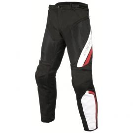 Kalhoty na motorku Dainese pánské DRAKE AIR D-DRY černá bílá červená d73982bca9