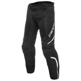 Kalhoty na motorku Dainese pánské DRAKE AIR D-DRY černá bílá a2fd79d891