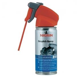 NIGRIN Grafitový prášek ve spreji, 100ml
