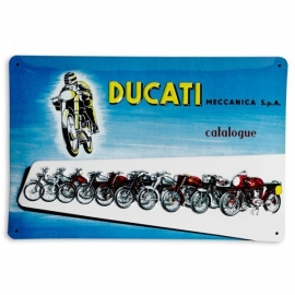 Plechová cedule Ducati Meccanica