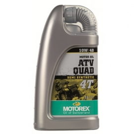 Motorový olej Motorex do čtyřkolky 4T 10W/40 1L