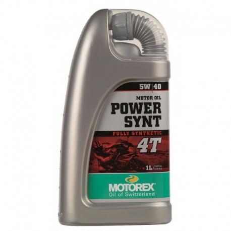 Motorový olej Motorex Power Synt 4T 5W/40 1L