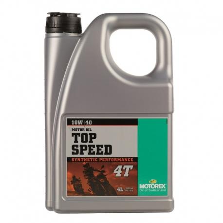 Motorový olej Motorex Top Speed 4T 10W/40 4L