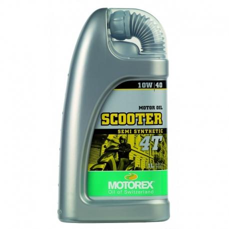 Motorový olej Motorex Scooter 4T 10W/40 1L