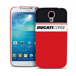 Kryt Ducati Corse na Samsung Galaxy S4 červený