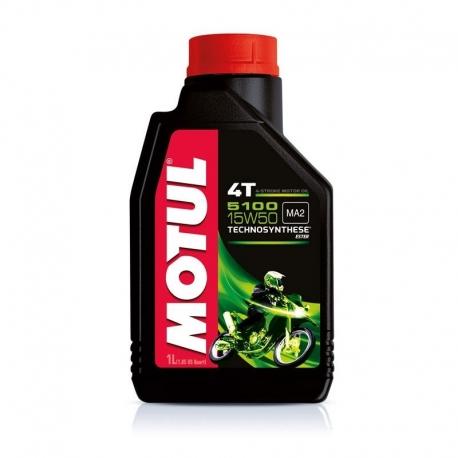 Motorový olej Motul 5100 4T SAE 15W50 1L