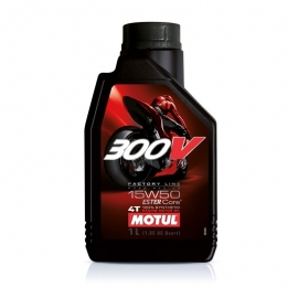 Motorový olej Motul 300V SAE 15W50 4T FL 1L
