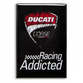 Magnet Ducati Corse černý