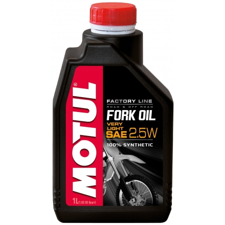Tlumičový olej Motul Fork Oil Factory Line Very Light 2.5W, 1L