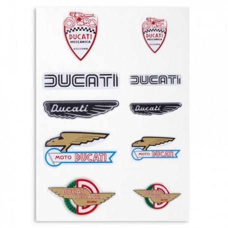 Samolepky Ducati Historical mix