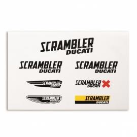 Samolepky Ducati Scrambler Multi Logo